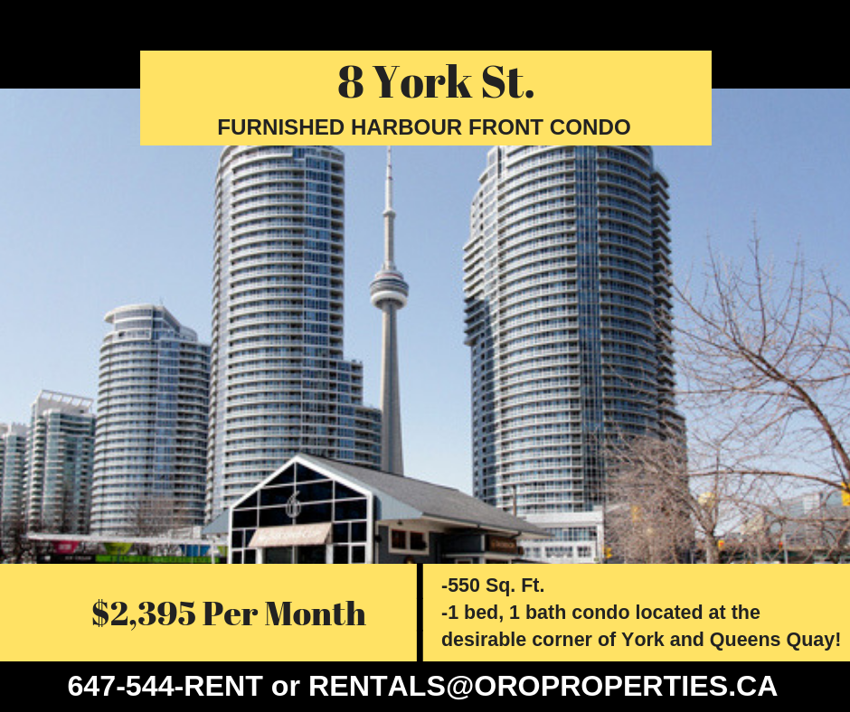 Amazing 1 Bedroom Condo In The Heart of Harbourfront!