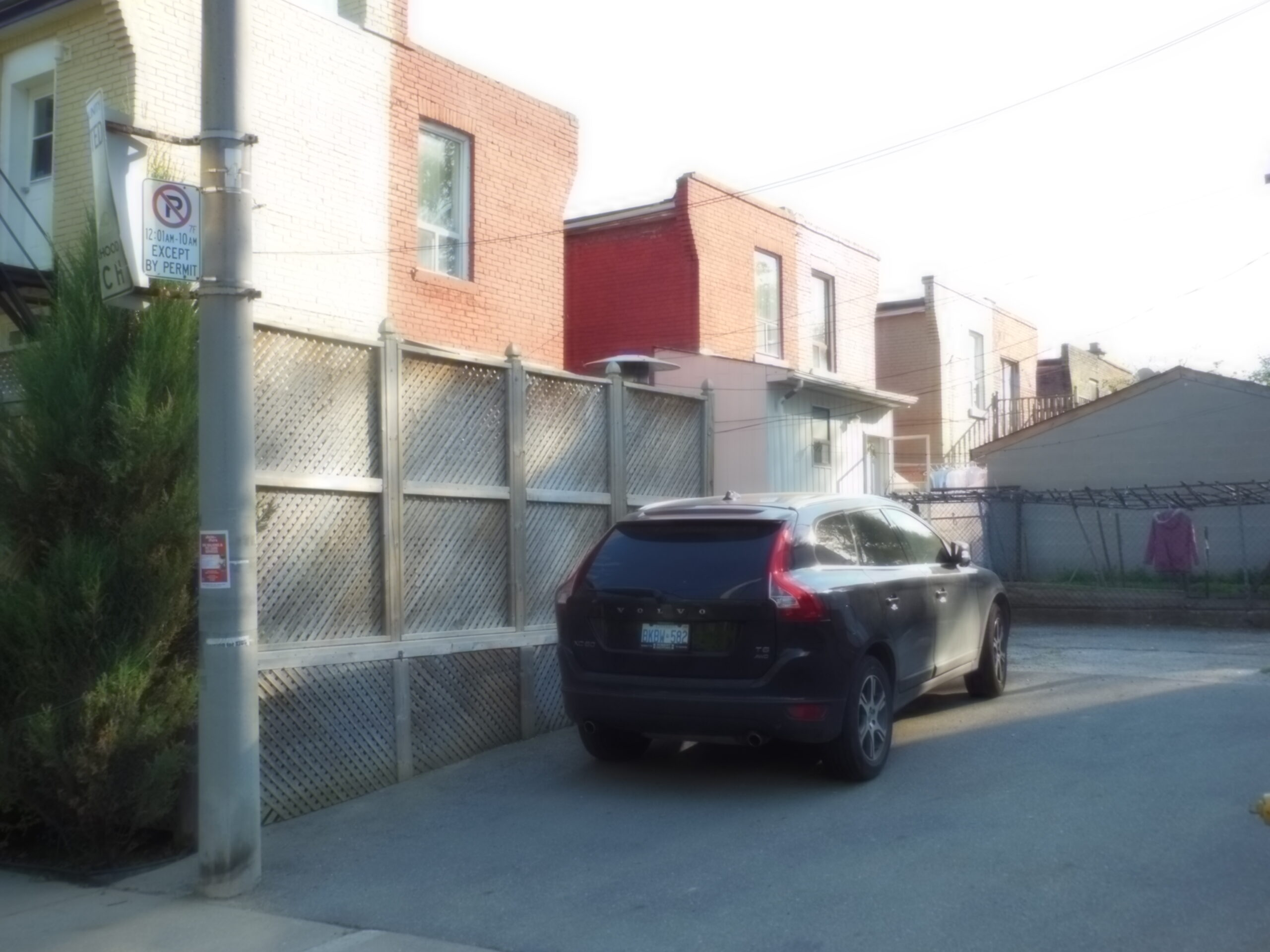 LESLIEVILLE: 2A Tiverton Ave. – 2 PARKING SPOTS AVAILABLE
