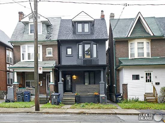 1235 Gerrard Upper – Stunning 2-Storey Loft Style House with 2 Decks in The Heart of Leslieville!
