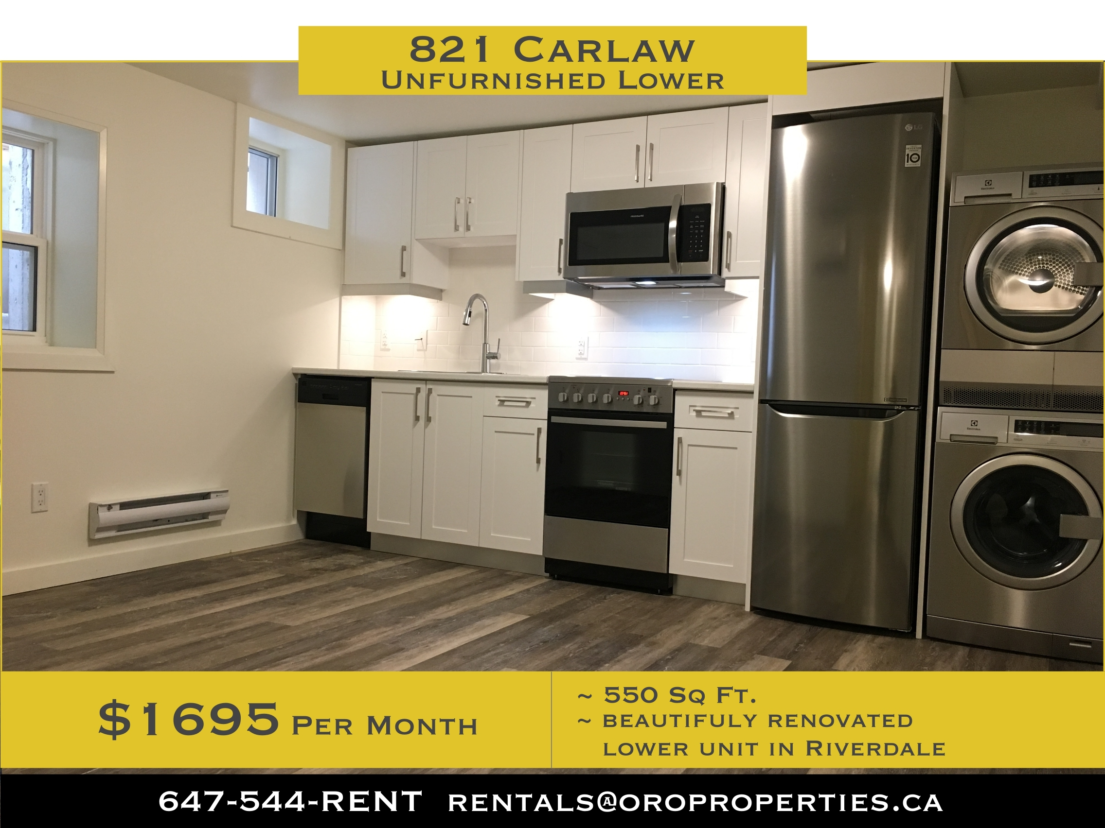 RIVERDALE / Greektown – DANFORTH Living at it's BEST!