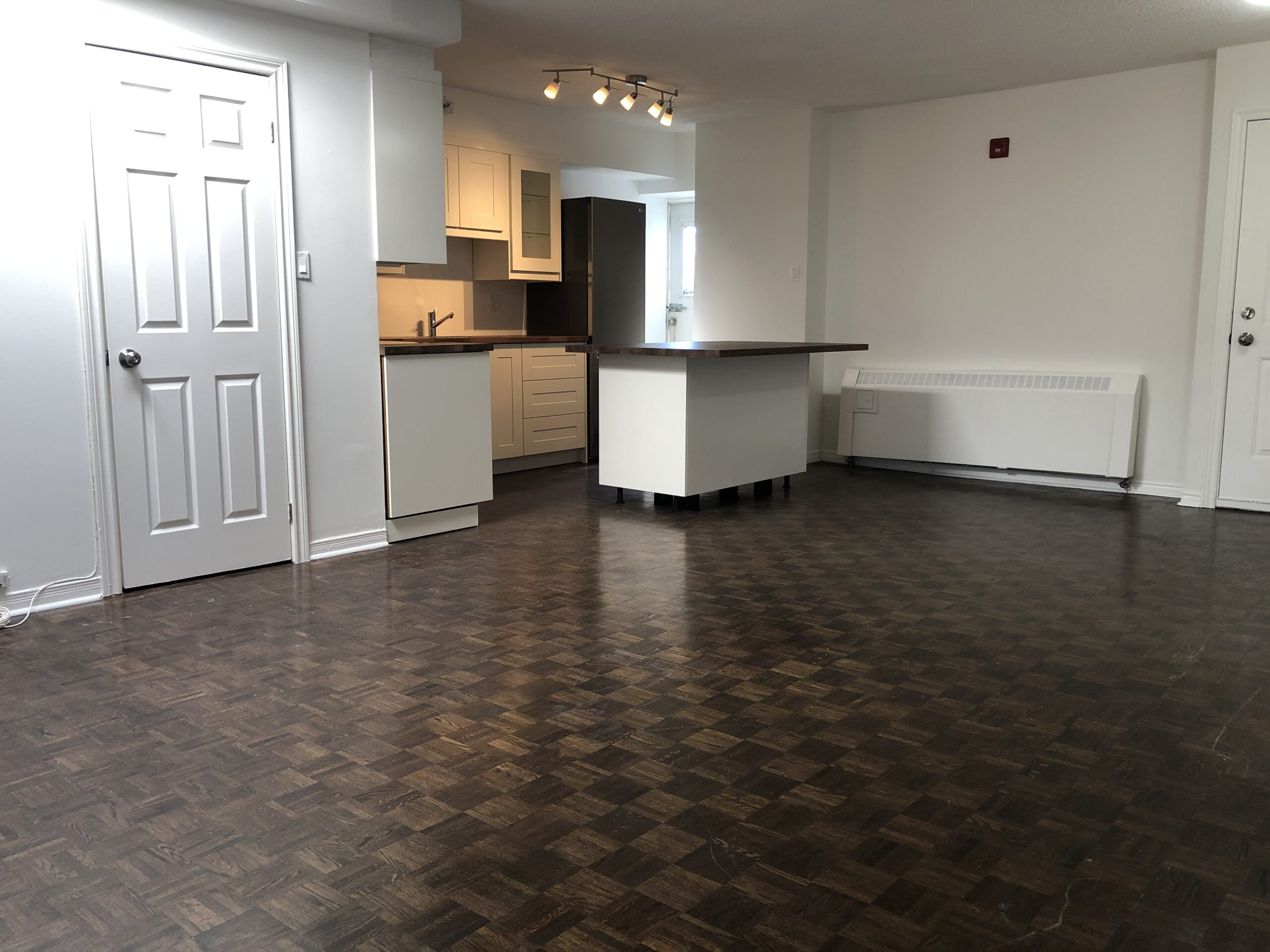 Two Bedroom, Newly Renovated, Light Filled Suite Just Steps from the Danforth!