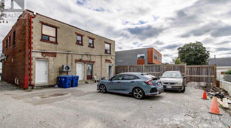 Parking Back and Back of Building